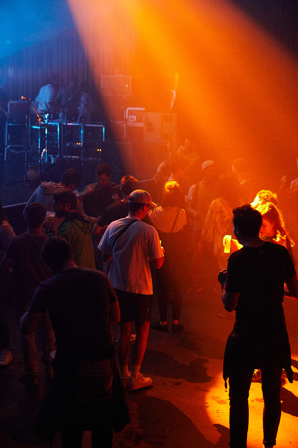 Concert Underground System at La Belle Électrique in Grenoble, France